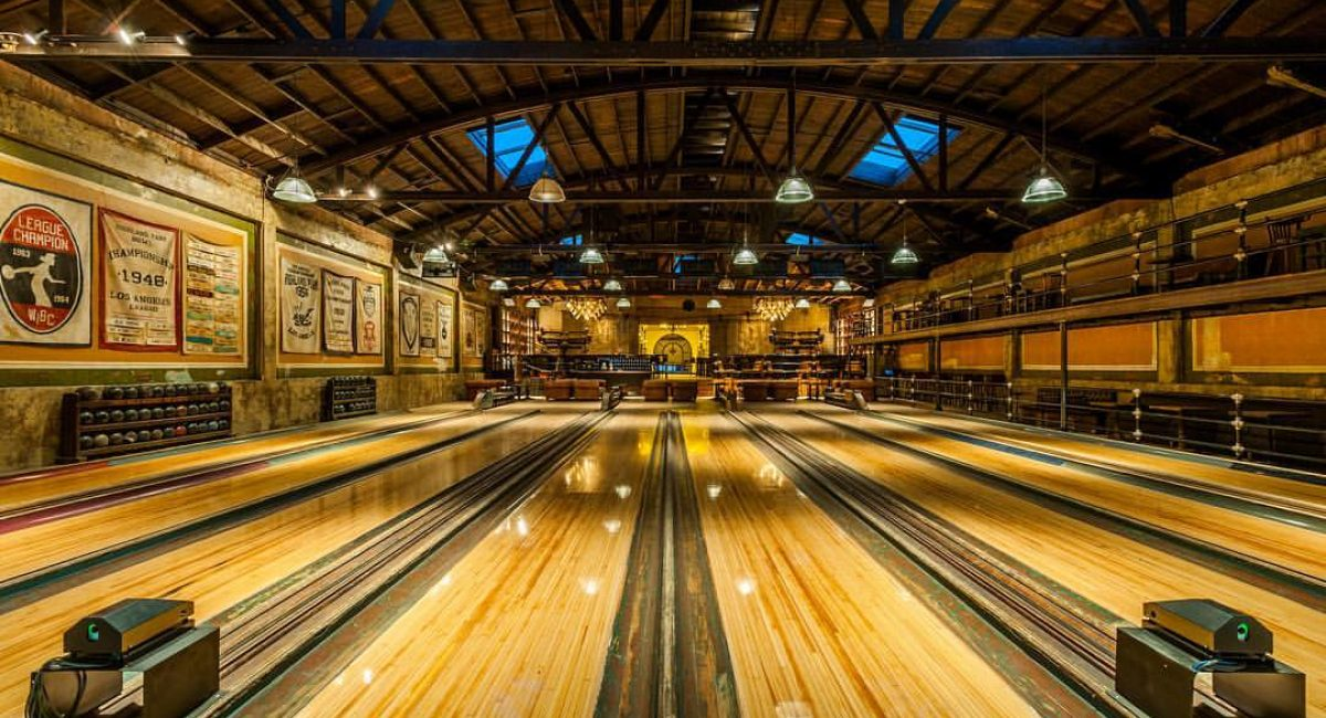 Vintage Bowling Alley 2