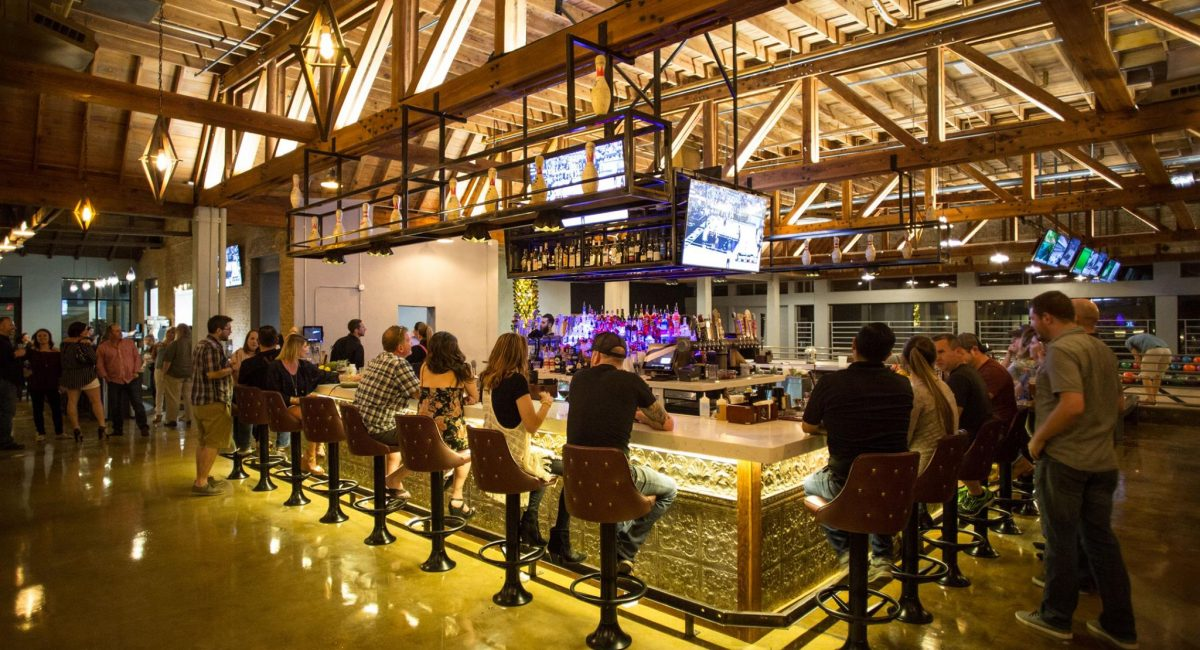 Boutique Bowling Alley Bar
