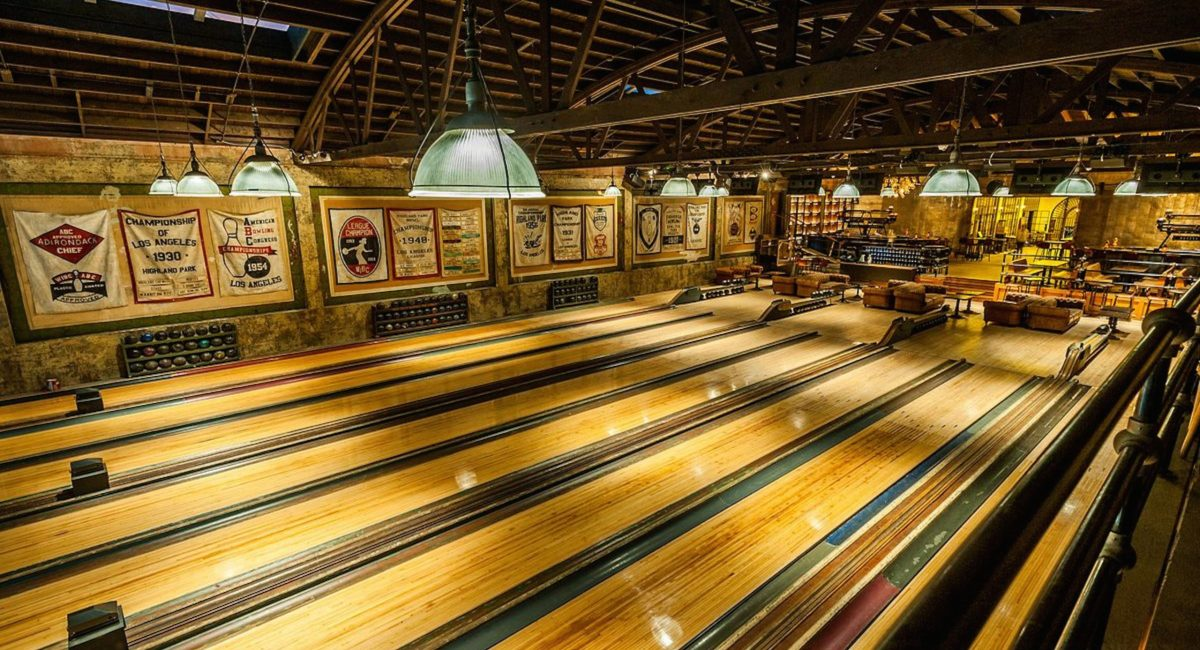 Vintage Bowling Alley