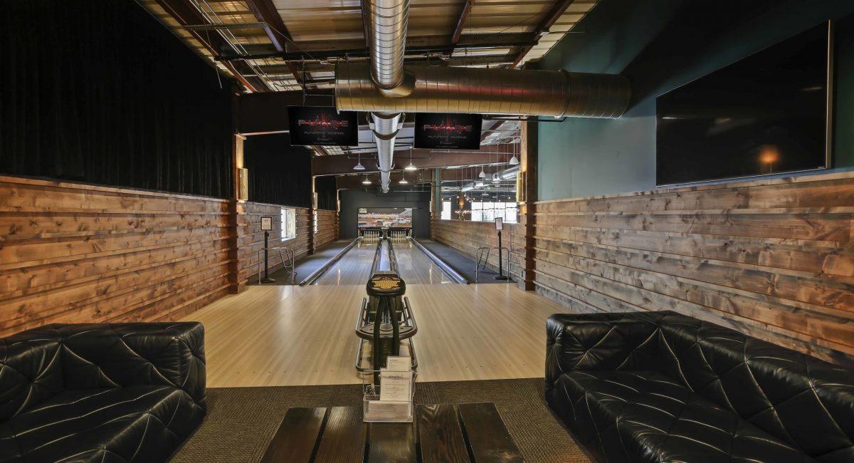 2 lane VIP bowling lane