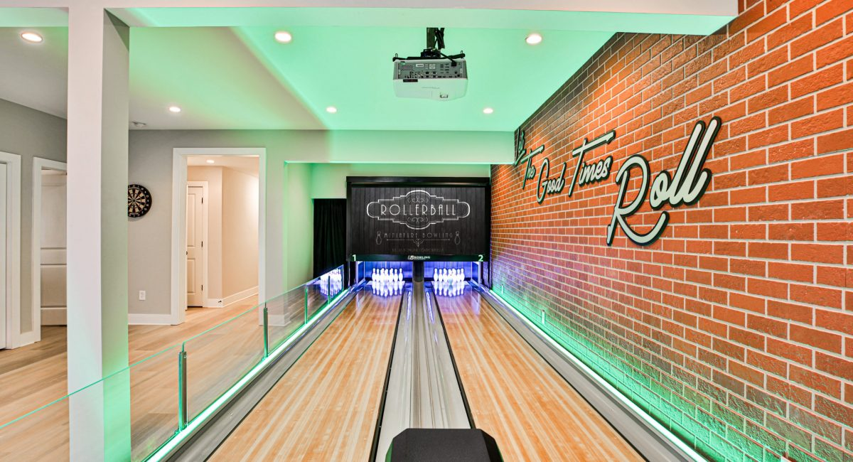 Residential bowling alley - Rock the Block